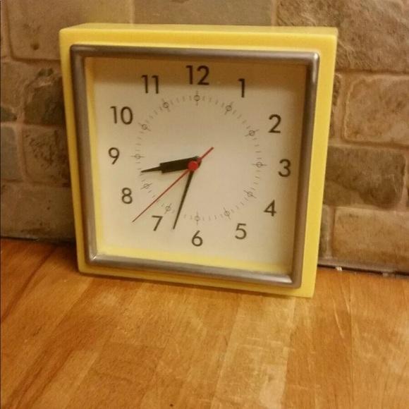 Pottery Barn Retro Analog Wall Freestanding Clock
